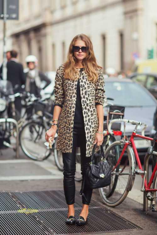 леопардовый принт возвращается, как его носить